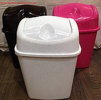 Ведро 10л для мусора Алеана, фото 2