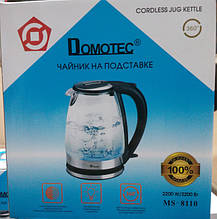 Электрочайник Domotec Стекло и Подсветка MS 8110 / DT-702