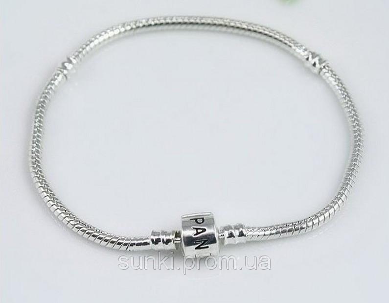 Браслет Пандора серебрянное украшение на руку серебро 925