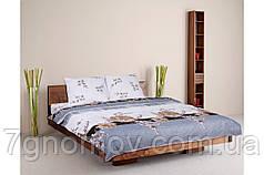 Комплект постельного белья двуспальный евростандарт Колорит Натюрель Premium