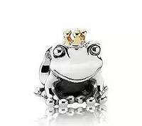 Шарм бусина Pandora Пандора Царевна лягушка