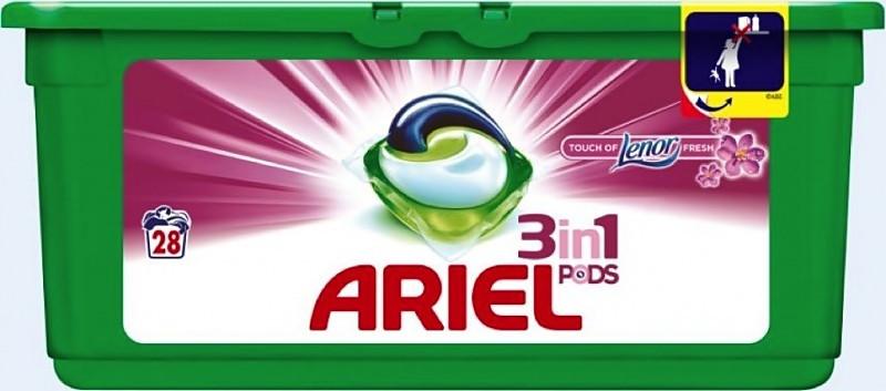 Капсули для прання ARIEL & Lenor universal 28 шт.