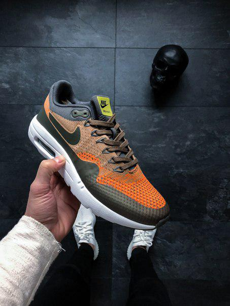 9389831f Мужские кроссовки Nike Air Max 1 Ultra Flyknit, Копия - TopCross в Львове