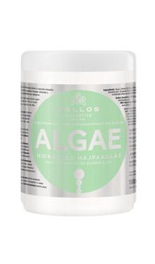 Маска зволожуюча для волосся з екстрактом водоростей і оливковою олією Kallos algae 1000 мл, фото 2