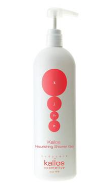 Живильний гель-крем для душу Kallos Nourishing Shower GEL с ароматом аргану 1000 мл, фото 2