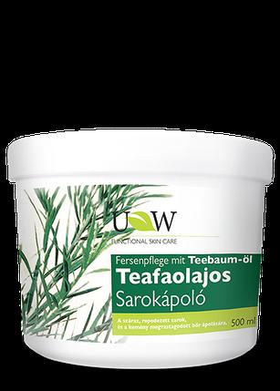 Крем для ніг з маслом чайного дерева UW Naturcosmetic 500 мл, фото 2