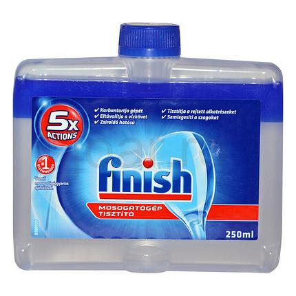 Очищувач для посудомийних машин Finish 250 мл, фото 2