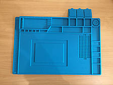 Силиконовый термостойкий защитный коврик для пайки 300х450 mm