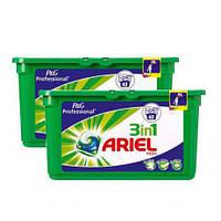 """Гель- капсули Ariel 3 в 1 """" Гірське  джерело"""" 42 шт в упаковці"""