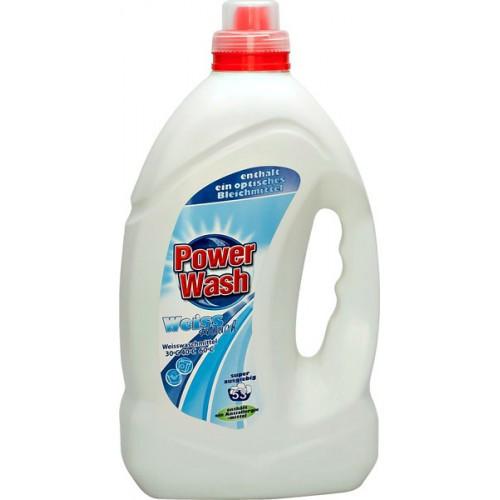 Гель для білої білизни  Power Wash Gel Weiss 4 л