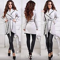 Пальто женское весна-осень №725 а.ц