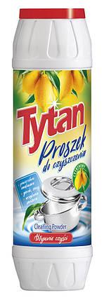 Порошок для чищення посуду та каструль Tytan цитрус 500 г., фото 2