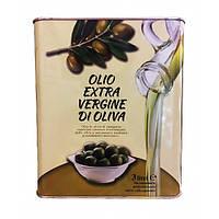 Оливкове масло першого холодного віджиму Olio Extra-Vergine di oliva 3 л