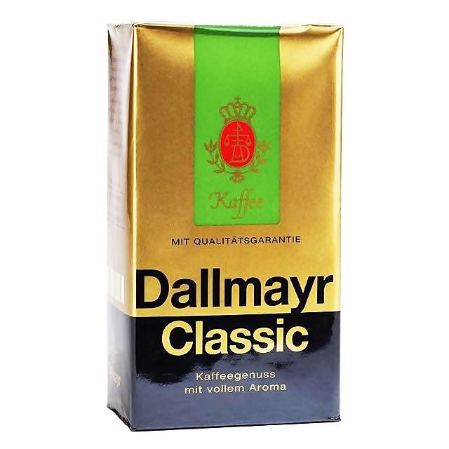 Кава мелена Dallmayr Classic 100% arabica 500 г