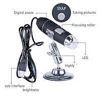 Микроскоп 50-500х USB; CMOS; 1600*1200; 8 LED