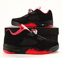 Кроссовки Nike Air Jordan 5 Retro Low. Живое фото (Реплика ААА+)