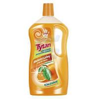 Моющее универсальное средство для пола концентрат Tytan stodka pomarancza (апельсин) 1 л.