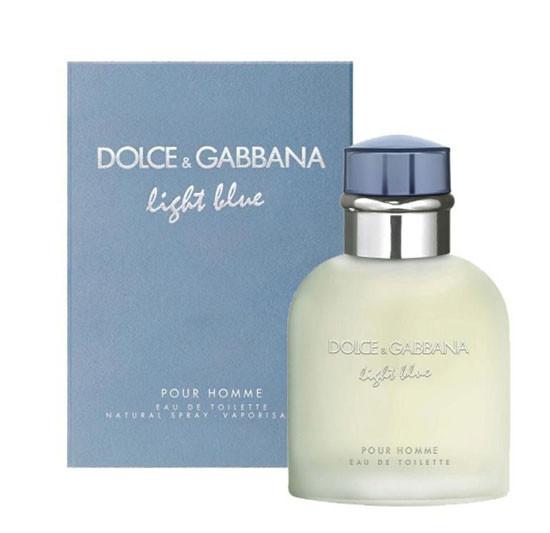 Мужская туалетная вода Dolce & Gabbana Light Blue Pour Homme, 125 мл