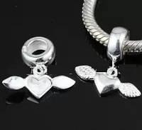 Шарм бусина Pandora Пандора Сердце с крыльями