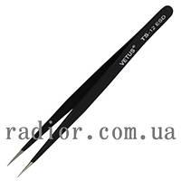 Пинцет радиотехнический ESD, Vetus TS-12 (12-0567)