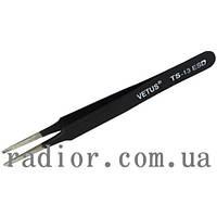 Пинцет радиотехнический ESD, Vetus TS-13 (12-0568)