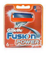 Змінні касети для гоління Gillette Fusion Power (6шт)