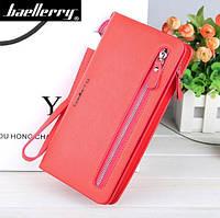 Женский клатч портмоне Baellerry Italia Красный