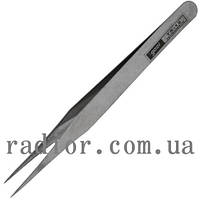 Пинцет радиотехнический GOOI TS-12, метал. (12-0522)