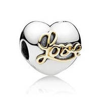 Шарм бусина Pandora Пандора Сердце Love