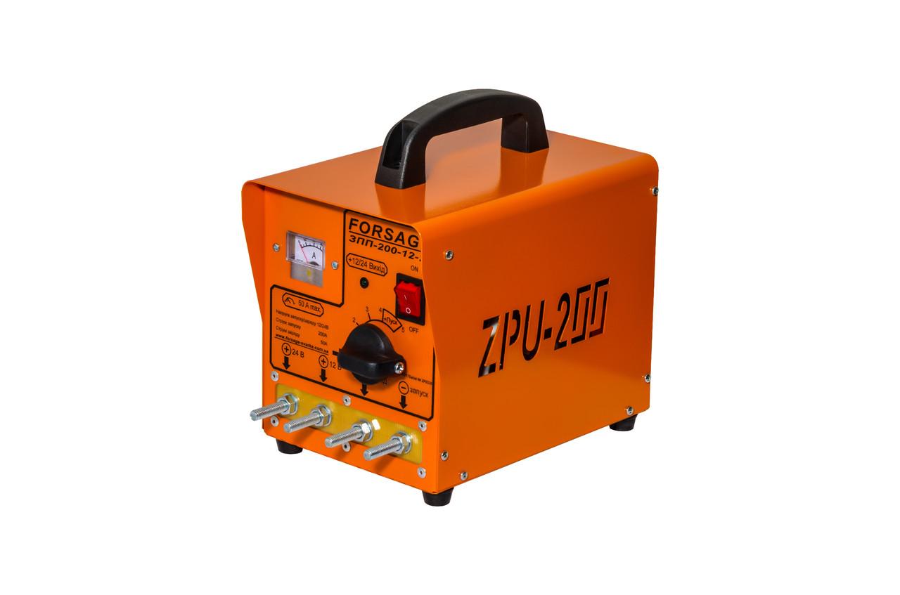 Зарядно-пусковое устройство Forsage ПЗУ-200 (12-24V)