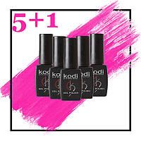 АКЦИЯ!!! Гель-лак Kodi Professional при покупке 5 шт + 1 гель-лак в подарок!!!