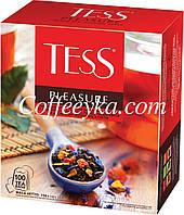 Чай TESS (Тесс) «Pleasure» (Плежа) 100 пакетиков по 1,5 г