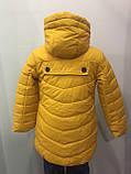 Демисезонная детская куртка для девочки 104,116 см, фото 2