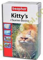Витамины Беафар для кошек Киттис таурин+биотин №750