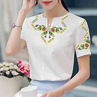 Заготовка вишиванки жіночої сорочки та блузи для вишивки бісером Бисерок  «Стрічечка» (Б- bb46a60cab29e