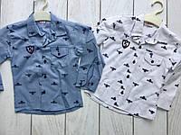 Рубашка на мальчика 3-7 лет