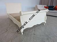 Односпальная кровать из дерева Ольха / Ясень (спальное место 900 х 1900 мм)