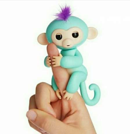 Інтерактивна мавпочка Fingerlings Baby Monkey (Фингерлингс Бейби Манки) Зоя