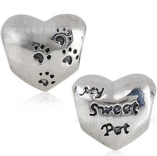 Шарм бусина Pandora Пандора Любовь к животным