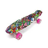 PENNY ABSTRACTION Lovely со светящимися розовыми колесами