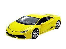 Автомодель (1:24)  Lamborghini  Huracan LP 610-4 жёлтый