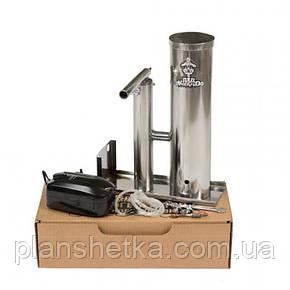 """Дымогенератор 2,5 л для копчения с охладителем и конденсатосборником из нержавейки """"ДК"""", фото 2"""