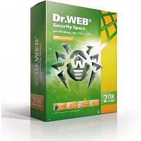 Антивирус Dr. Web Security Space 11, 2 ПК 2 года (BHW-B-24M-2-A3)