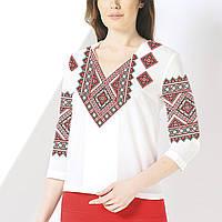 Заготовка вишиванки жіночої сорочки та блузи для вишивки бісером Бисерок  «Орнамент 73» (Б 2f3c2548965db