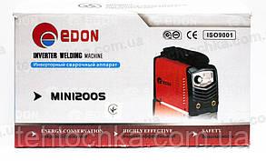 Зварювальний інвертор EDON MINI - 200S, фото 3