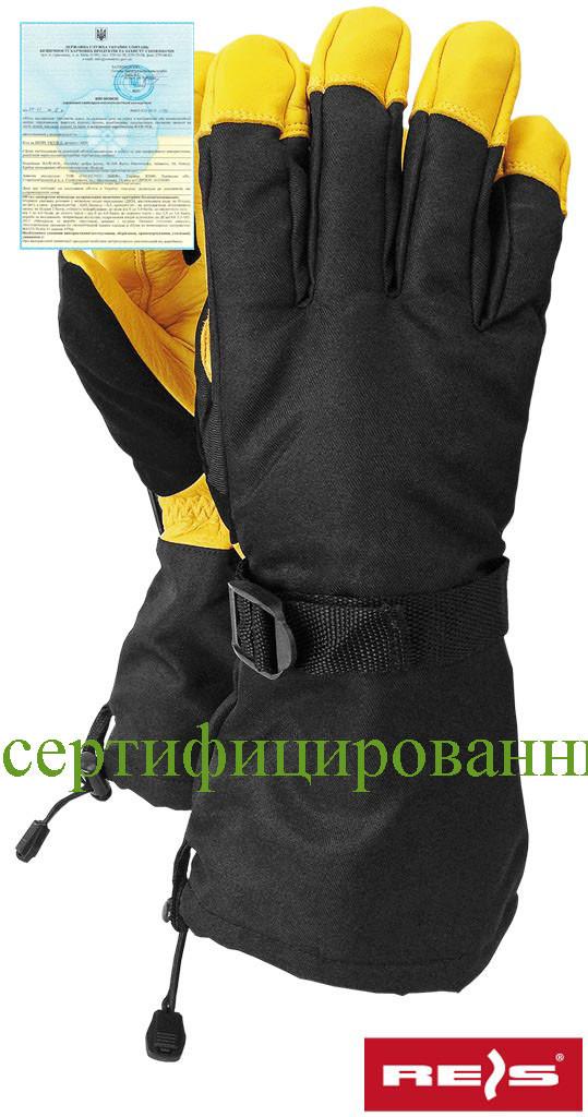 Захисні рукавиці укріплені оленячою шкірою, поєднаної з водовідштовхувальним тканиною RNORWING BY