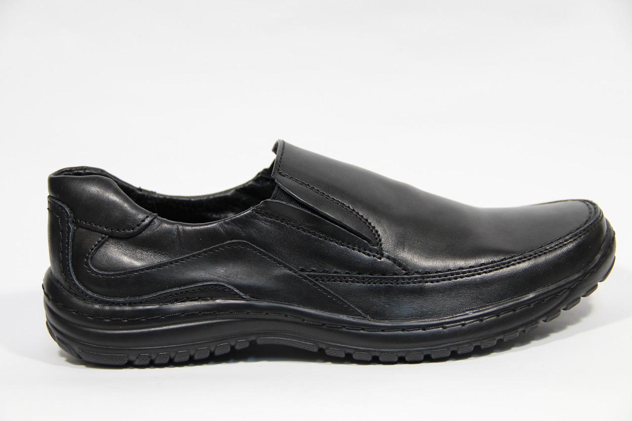 Туфли мужские из натуральной кожи ДФ 38