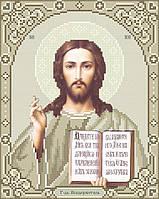 Схема для вишивки та вишивання бісером Бисерок ікона «Ісус 3446к» (A4) 20x25 1768e21850468