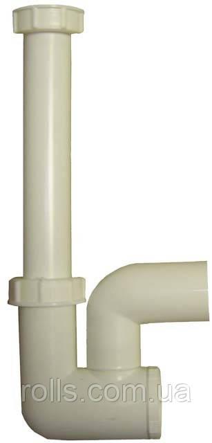 HL136.3 Сифон для кондиционера с уплотнением DN40 с водяным и механическим запахозапирающим затвором