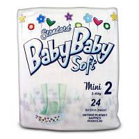 Подгузник BabyBaby Soft Standard Mini 2 (3-6 кг) 24 шт (8588004865587)